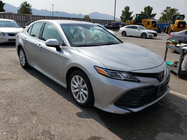 Salvage cars for sale from Copart Anthony, TX: 2019 Toyota Camry L