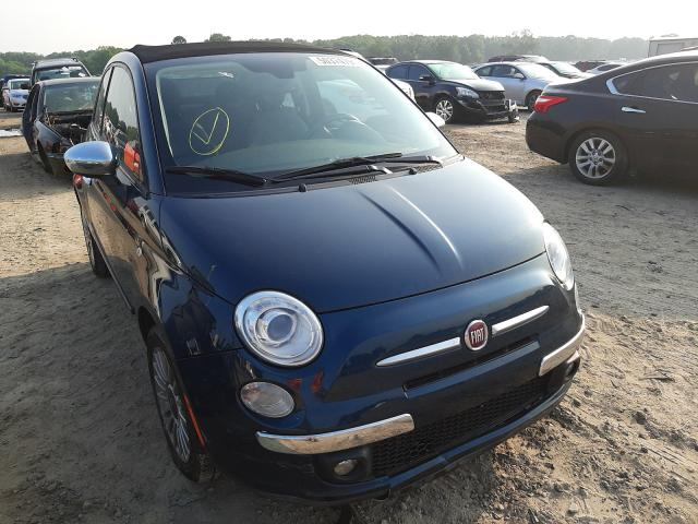 Fiat salvage cars for sale: 2013 Fiat 500 Lounge