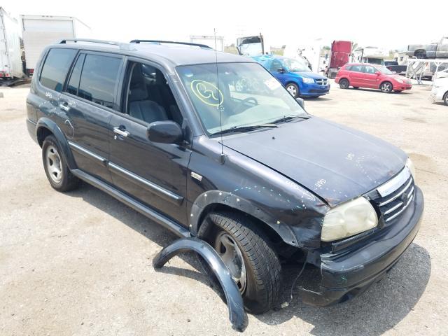Salvage cars for sale from Copart Tucson, AZ: 2002 Suzuki XL7 Plus