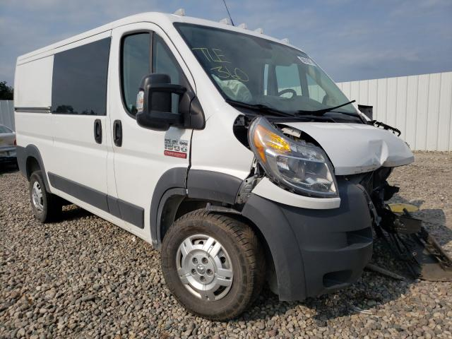 Salvage cars for sale from Copart Lansing, MI: 2017 Dodge RAM Promaster