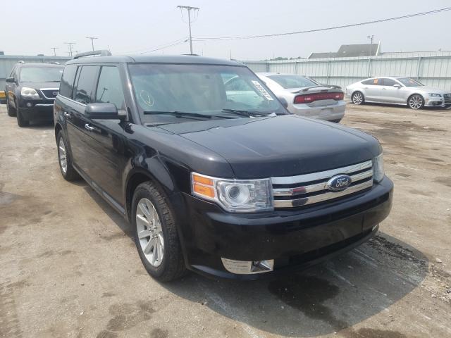 Flood-damaged cars for sale at auction: 2009 Ford Flex SEL