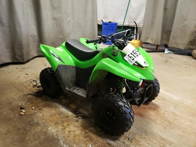 Salvage motorcycles for sale at Tifton, GA auction: 2020 Kawasaki KSF50 B