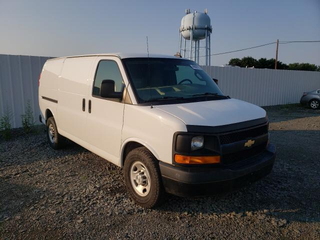 Upcoming salvage trucks for sale at auction: 2016 Chevrolet Express G2