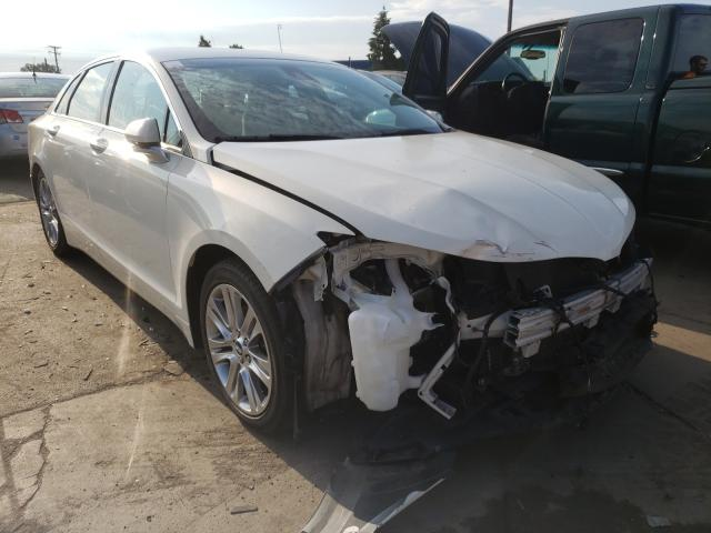 Salvage cars for sale from Copart Woodhaven, MI: 2013 Lincoln MKZ Hybrid