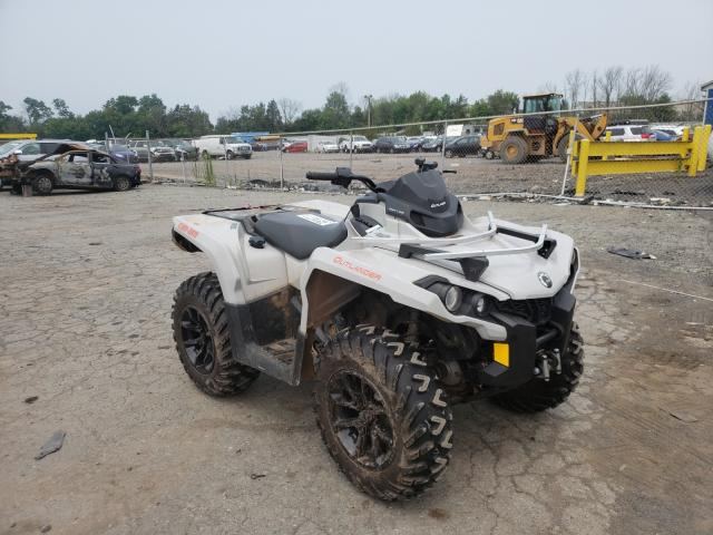 Salvage cars for sale from Copart Pennsburg, PA: 2017 Can-Am Outlander