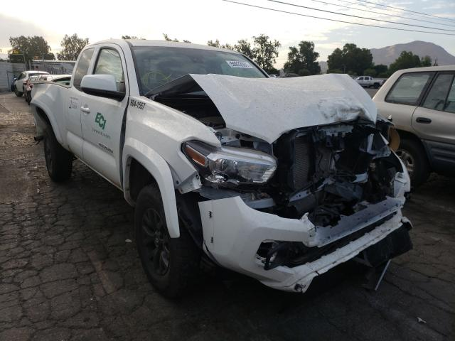 Salvage cars for sale from Copart Colton, CA: 2021 Toyota Tacoma ACC