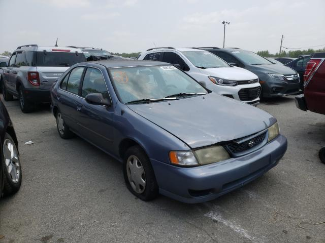 Salvage cars for sale from Copart Louisville, KY: 1998 Nissan Sentra E