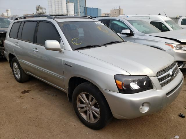 Salvage cars for sale from Copart Chicago Heights, IL: 2006 Toyota Highlander