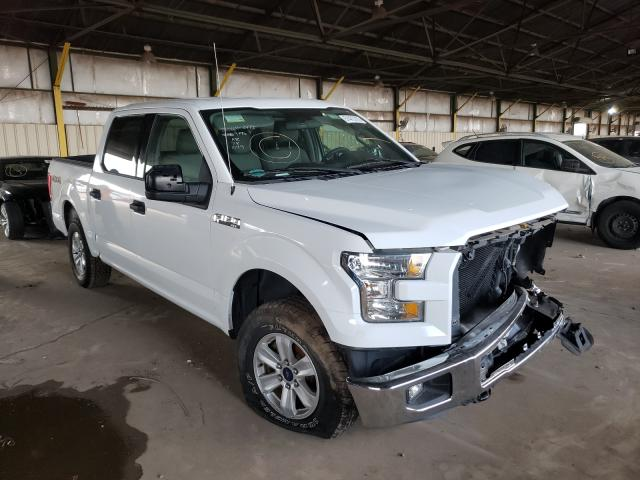 Salvage cars for sale from Copart Phoenix, AZ: 2015 Ford F150 Super