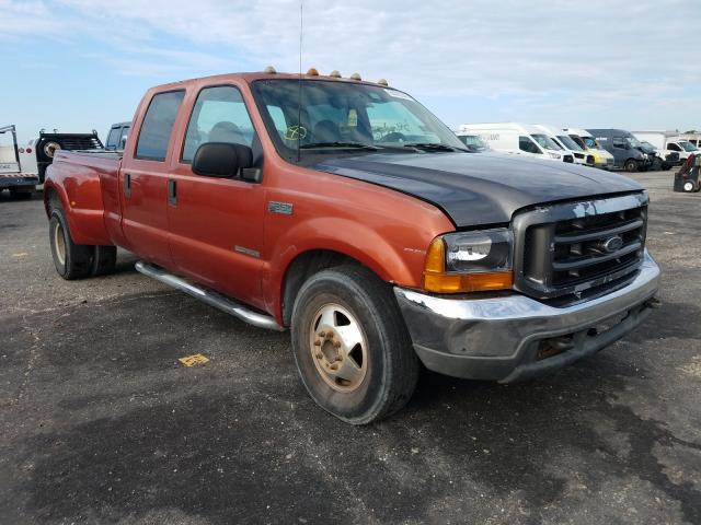 Salvage cars for sale from Copart Jacksonville, FL: 1999 Ford F350 Super