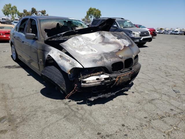 Vehiculos salvage en venta de Copart Martinez, CA: 2002 BMW 525 I Automatic