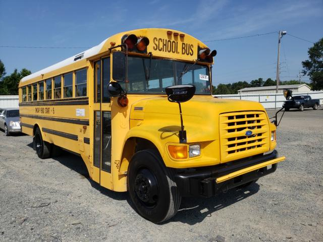 Salvage cars for sale from Copart Shreveport, LA: 1995 Ford Bus Chassi