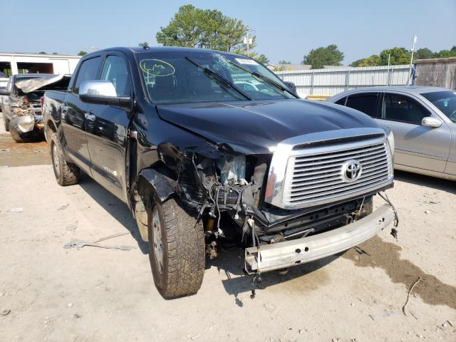 Salvage cars for sale from Copart Florence, MS: 2012 Toyota Tundra CRE