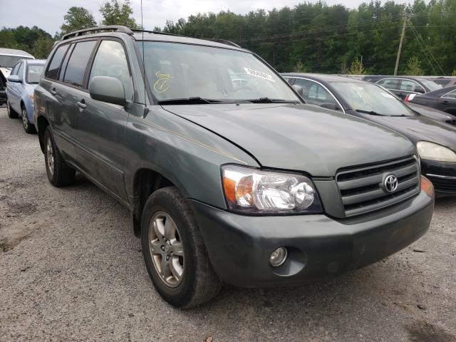 Salvage cars for sale from Copart Fredericksburg, VA: 2007 Toyota Highlander