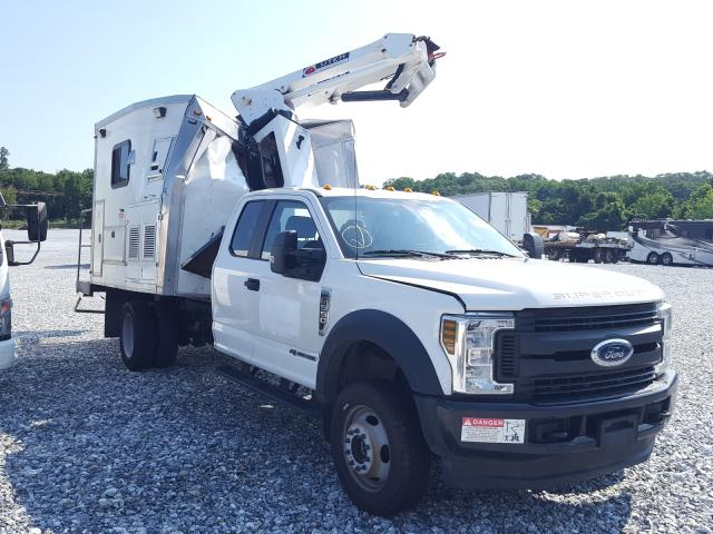 Salvage cars for sale from Copart York Haven, PA: 2019 Ford F550 Super