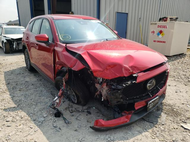 Salvage cars for sale from Copart Sikeston, MO: 2021 Mazda CX-5 Sport