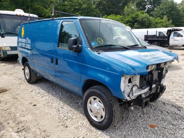 Salvage cars for sale from Copart Mendon, MA: 2013 Ford Econoline
