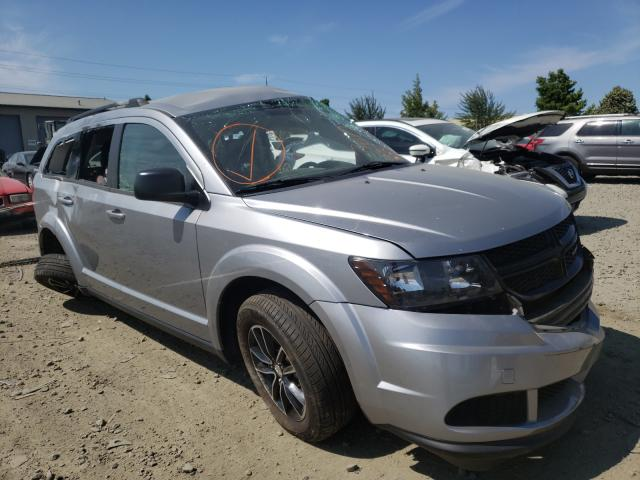 Salvage cars for sale from Copart Eugene, OR: 2017 Dodge Journey SE