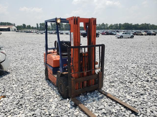 Salvage cars for sale from Copart Cartersville, GA: 1999 Toyota Forklift