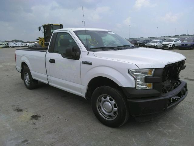 Salvage cars for sale from Copart Eldridge, IA: 2016 Ford F150
