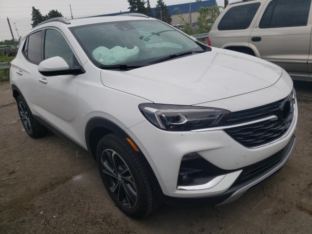 Buick Encore GX salvage cars for sale: 2021 Buick Encore GX