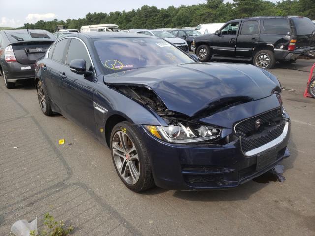 Jaguar XE salvage cars for sale: 2017 Jaguar XE