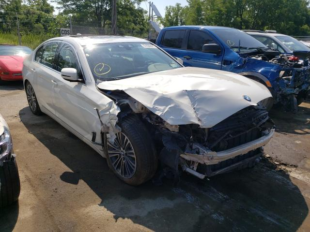 Salvage cars for sale from Copart Marlboro, NY: 2019 BMW 530 XI