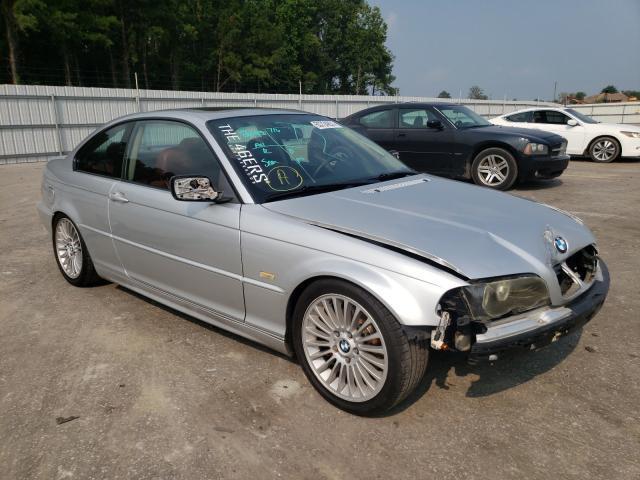 Vehiculos salvage en venta de Copart Dunn, NC: 2001 BMW 325 CI