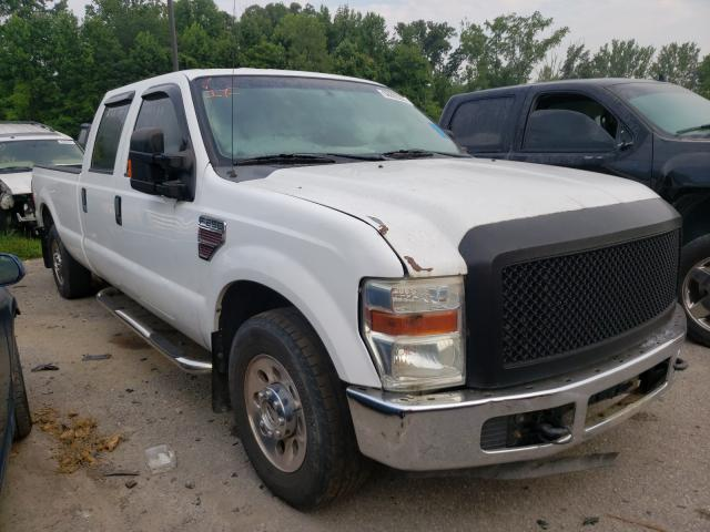 Salvage cars for sale from Copart Louisville, KY: 2008 Ford F250 Super