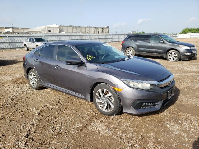 Vehiculos salvage en venta de Copart Mercedes, TX: 2016 Honda Civic EX