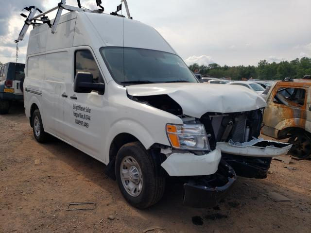 Salvage cars for sale from Copart Hillsborough, NJ: 2021 Nissan NV 2500 S
