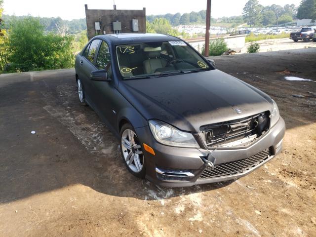 Vehiculos salvage en venta de Copart Fairburn, GA: 2012 Mercedes-Benz C 250