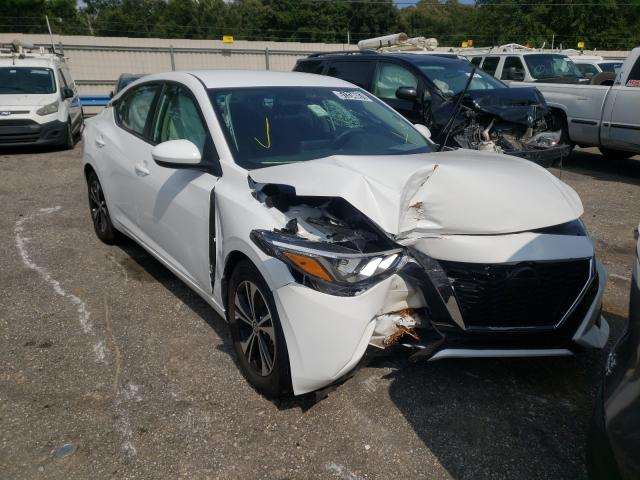 Salvage cars for sale from Copart Eight Mile, AL: 2021 Nissan Sentra SV