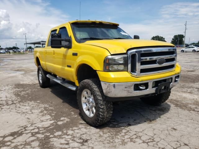 Salvage cars for sale from Copart Riverview, FL: 2006 Ford F350 SRW S