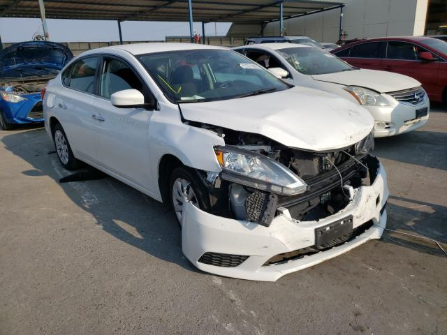 Salvage cars for sale from Copart Anthony, TX: 2019 Nissan Sentra S