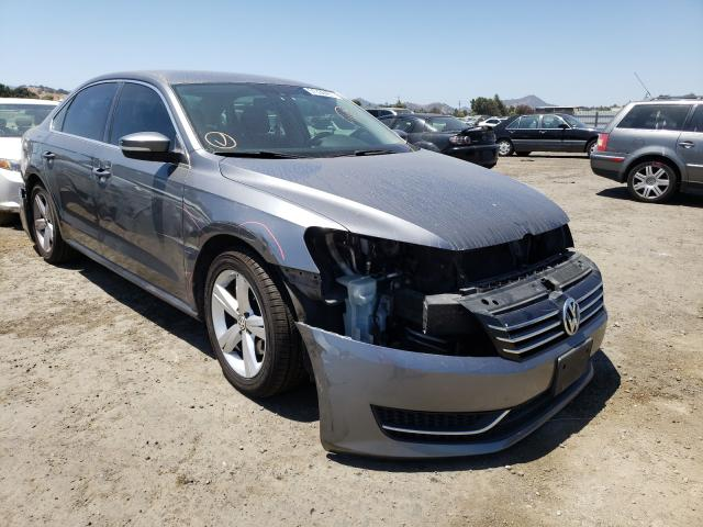 Salvage cars for sale from Copart San Martin, CA: 2013 Volkswagen Passat SE