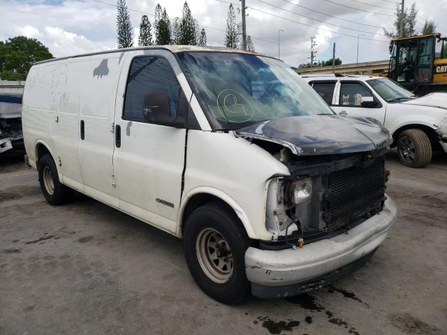 Salvage cars for sale from Copart Miami, FL: 2000 Chevrolet Express G1