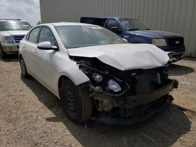 Salvage cars for sale from Copart Houston, TX: 2019 KIA Forte FE