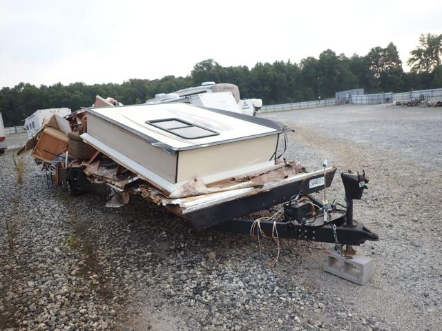 Salvage cars for sale from Copart Spartanburg, SC: 2012 Wildwood Travel Trailer