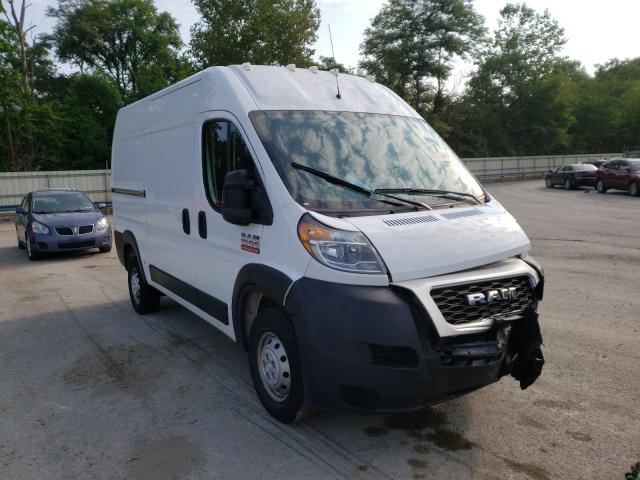 Salvage cars for sale from Copart Ellwood City, PA: 2019 Dodge RAM Promaster