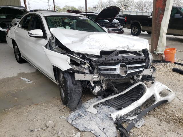 Salvage cars for sale from Copart Homestead, FL: 2016 Mercedes-Benz C300