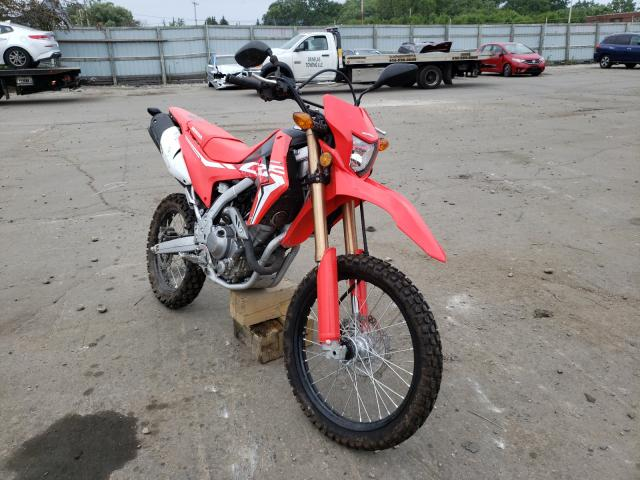 Salvage cars for sale from Copart Cudahy, WI: 2020 Honda CRF250 L