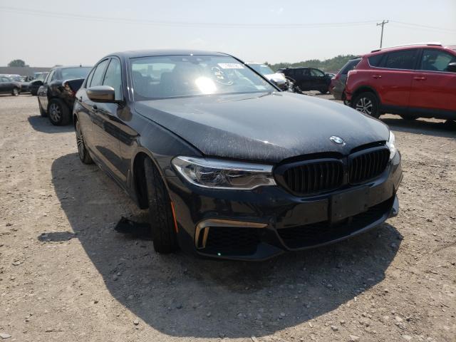 BMW M550XI salvage cars for sale: 2019 BMW M550XI