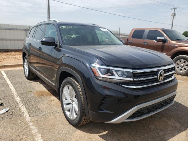 Volkswagen salvage cars for sale: 2021 Volkswagen Atlas SEL