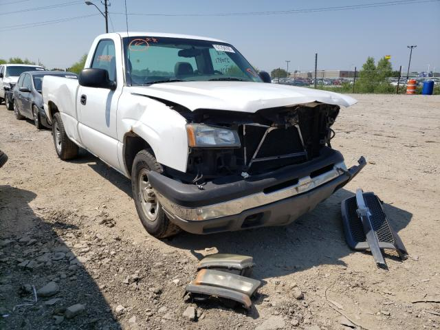 Salvage trucks for sale at Indianapolis, IN auction: 2004 Chevrolet Silverado
