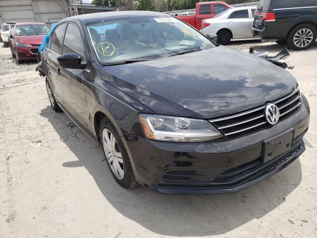Salvage cars for sale from Copart Corpus Christi, TX: 2017 Volkswagen Jetta S