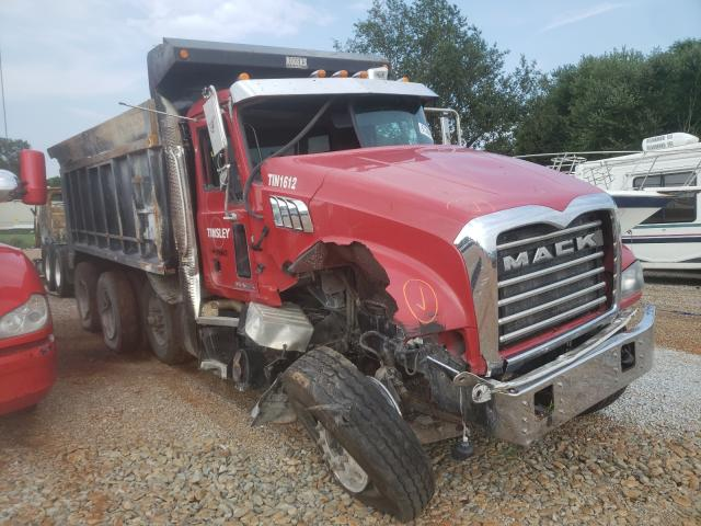 Mack 700 GU700 salvage cars for sale: 2016 Mack 700 GU700