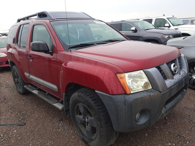 Salvage cars for sale from Copart Phoenix, AZ: 2006 Nissan Xterra OFF