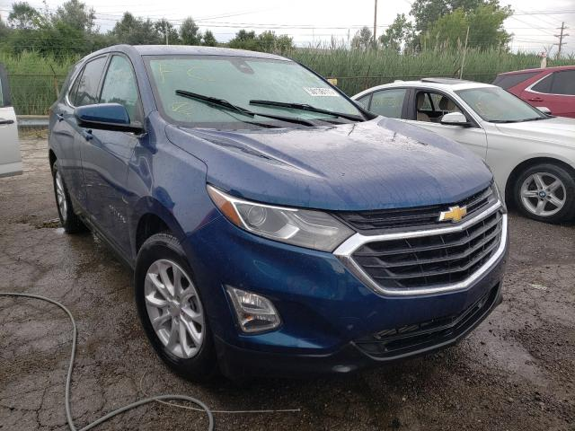 Salvage cars for sale from Copart Woodhaven, MI: 2020 Chevrolet Equinox LT