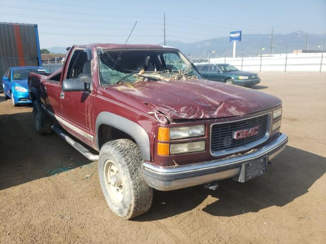 Salvage cars for sale from Copart Colorado Springs, CO: 1999 GMC Sierra K25